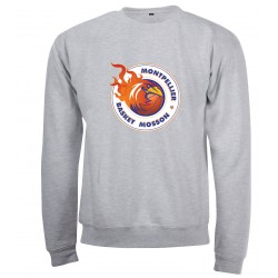 Sweat adulte col rond