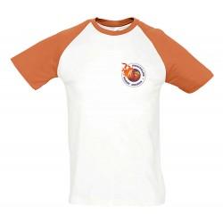 T-shirt bicolore adulte